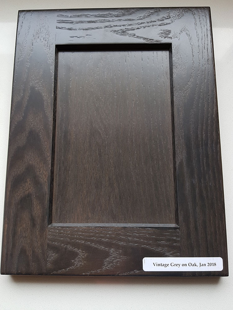 Oak, Shaker 351 Panel, Vintage Grey Finish